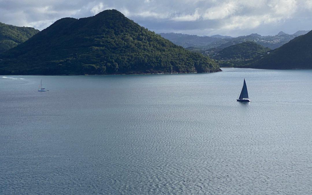 Saint Lucia, the caribbean feeling and farewell's..